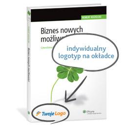 Biznes nowych możliwości - indywidualny logotyp na okładce